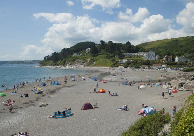 Seaton Beach, Looe, Cornwall