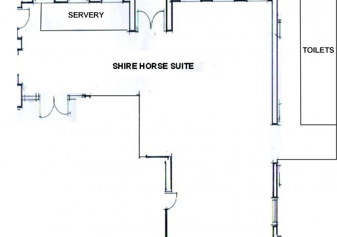 Shire Horse Suite Floor Plan