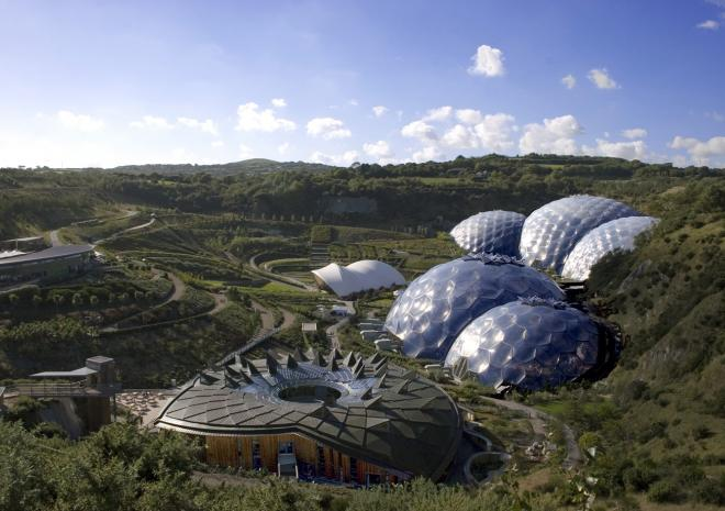 Eden Project , St Austell, Cornwall