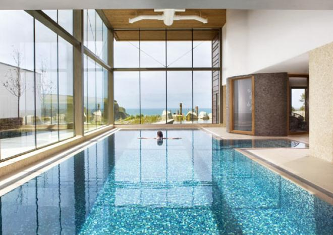 The scarlet spa for Hotels in cornwall with indoor swimming pool