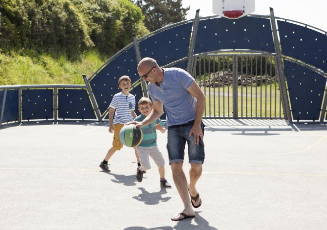 All-Weather Multi-Sports Court, Holywell Bay Holiday Park