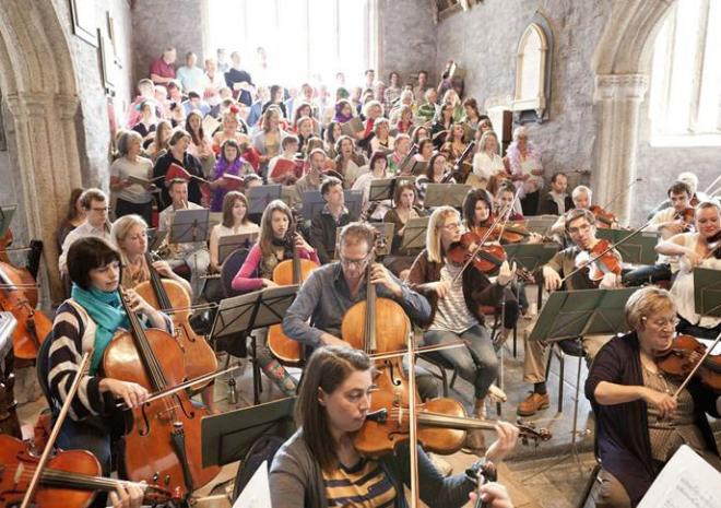 St Endellion Summer Music Festival, Cornwall