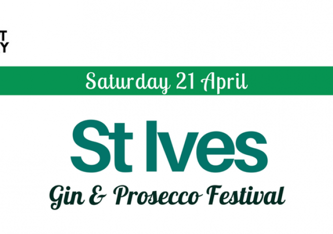 Gin and prosecco festival St Ives, Cornwall, event