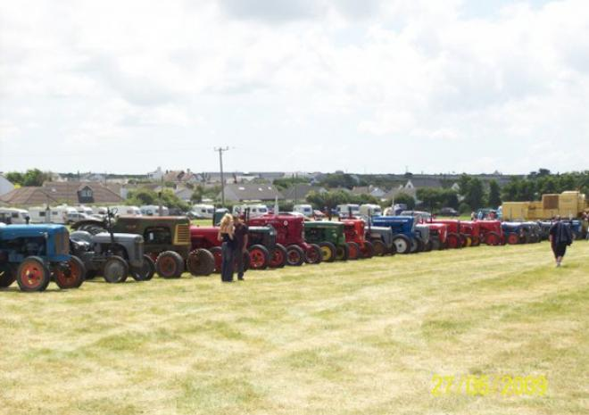St Merryn Steam Fair & Rally, near Padstow Cornwall
