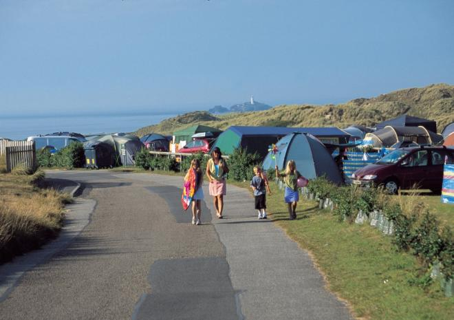 St Ives Bay Holiday Park, Hayle, Cornwall