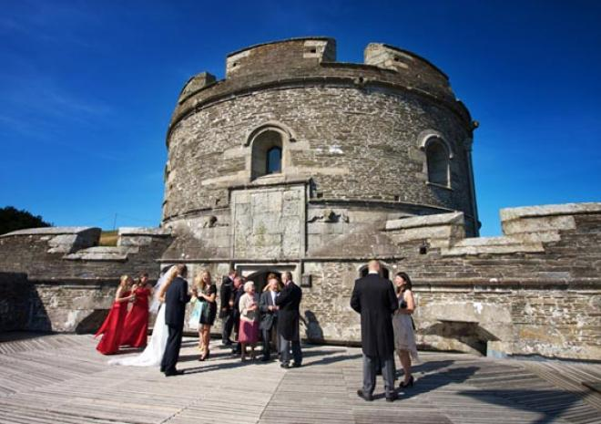 Wedding Castle in Cornwall | St Mawes Castle