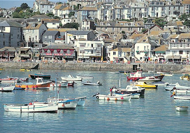 St Ives just 30 minutes away - go by train it's lovely