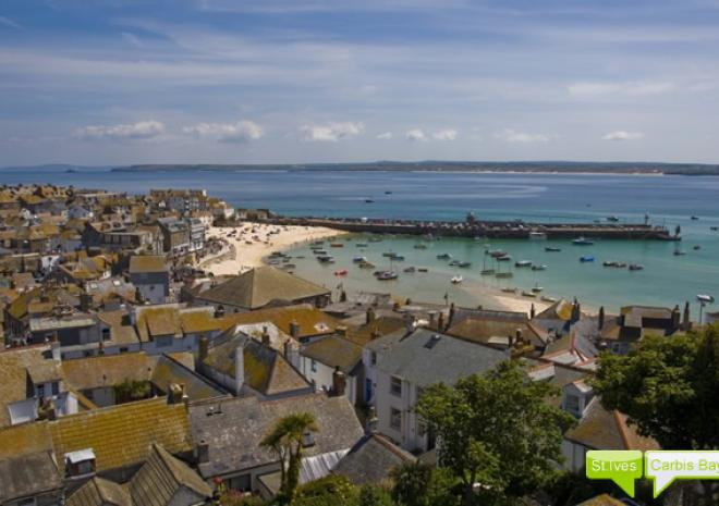 St Ives Carbis Bay Self Catering in Cornwall, 4 luxury apartments.