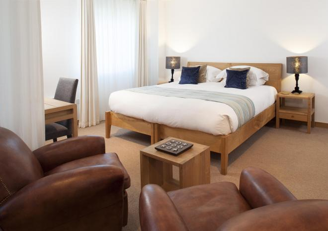 End King Room St Moritz Hotel, Near Rock, Wadebridge | Luxury Hotel in Cornwall