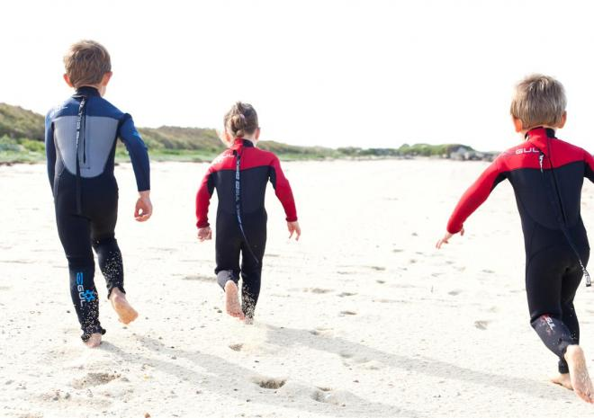 Tresco Island Activities, Children on Beach