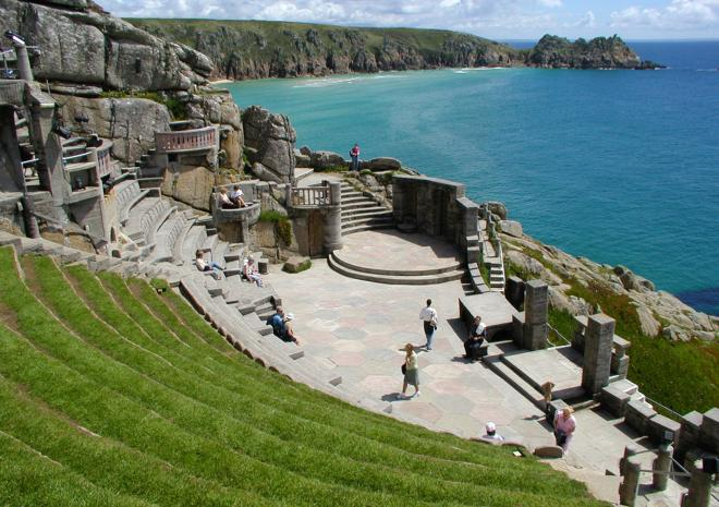 Minack Theatre, Porthcurno, West Cornwall c Visit Cornwall