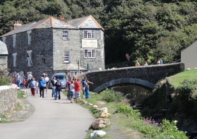 The Riverside, Bed and Breakfast, Boscastle, Cornwall