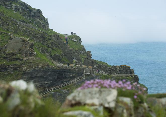 Tintagel Castle, North Cornwall c Adam Gibbard/Visit Cornwall