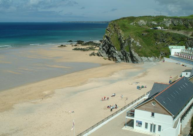 Tolcarne Beach | Newquay | Beaches in Cornwall c Visit Cornwall