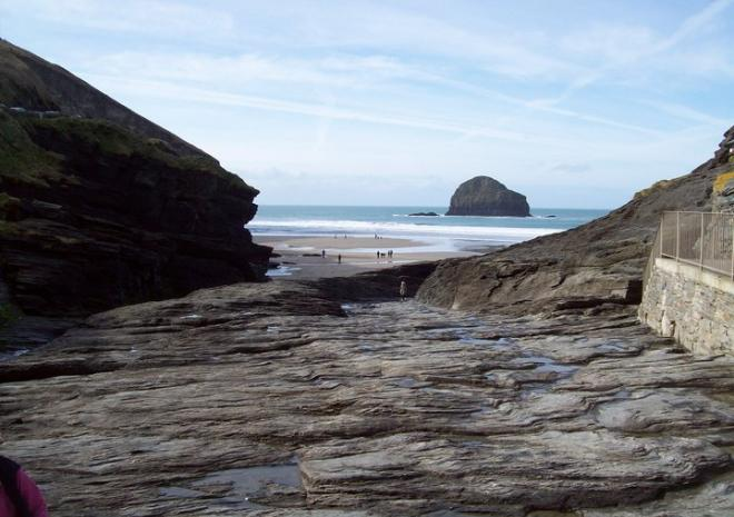 Trebarwith Strand Beach | Tintagel | Beaches in Cornwall c Nigel Kotula