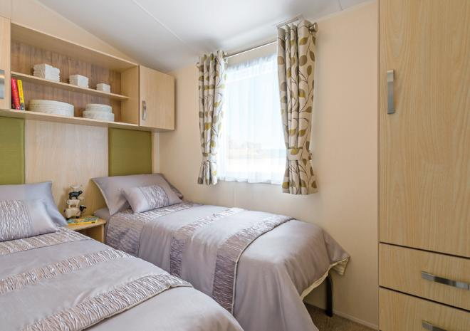 Trelawne Manor Holiday Park, Bedroom, Self catering accommodation, Looe, Cornwall