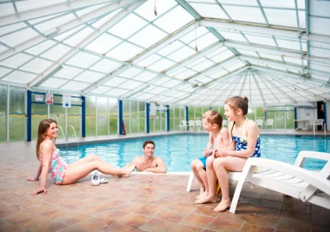Trelawne Manor Holiday Park, Swimming Pool, Self catering accommodation, Looe, Cornwall