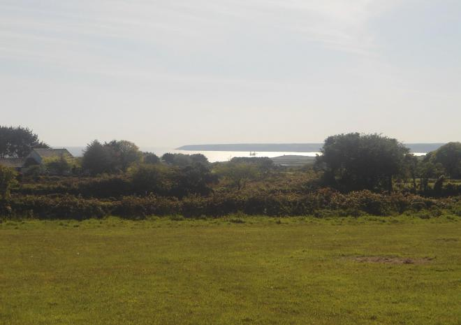 Tre-Morvu, Camping site, Accommodation, West Cornwall, Sea views