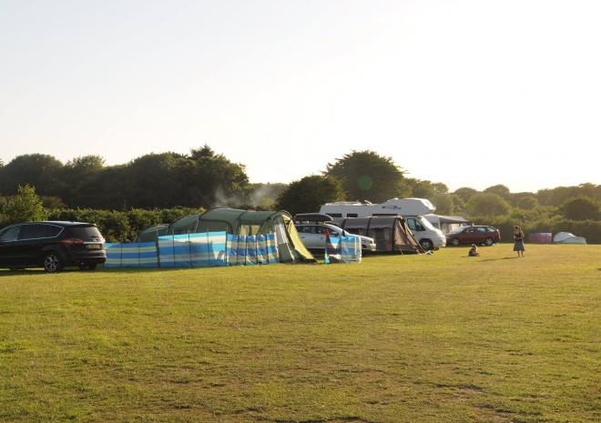 Tre-Morvu, Camping site, Accommodation, West Cornwall