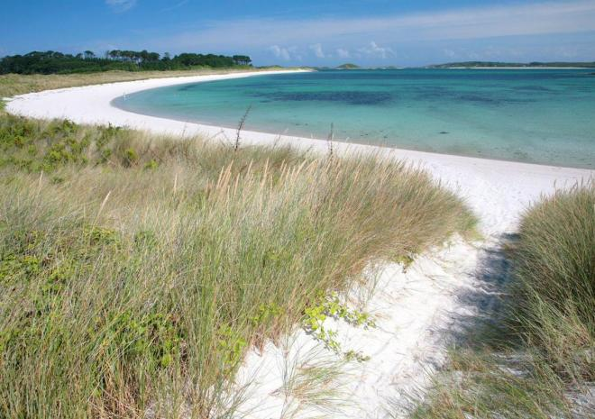 Tresco Island Activities, Pentle Bay