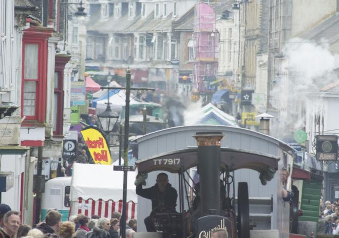 Trevithick Day, Camborne, Cornwall
