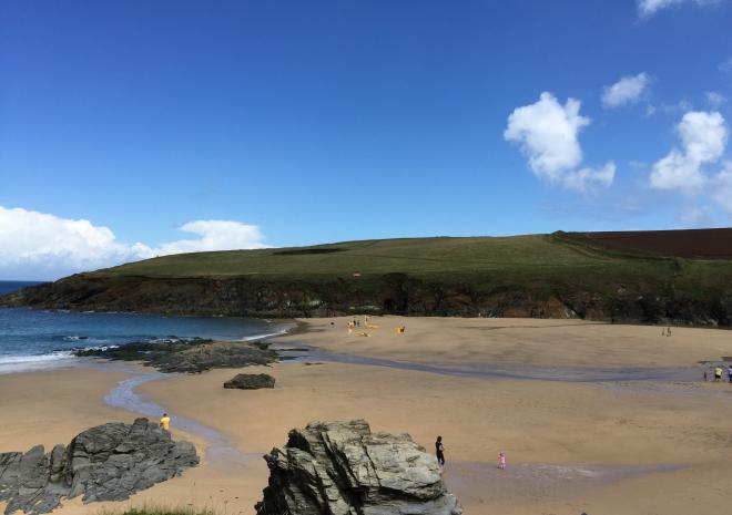 Trevone Bay Beach | Padstow | Beaches in Cornwall c Sean Hughes