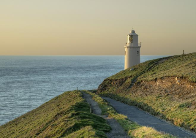 South West Coast Path, Trevose Head, Cornwall