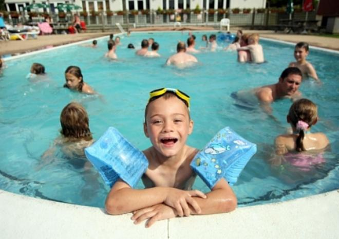 Holiday park in Cornwall with swimming pool