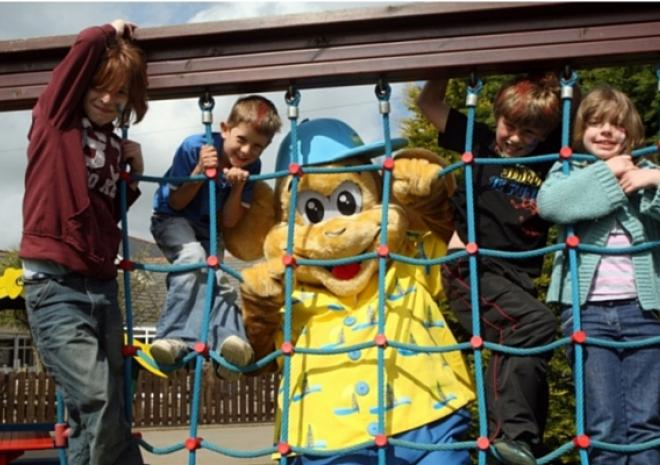 Kids club at holiday park in Vornwall