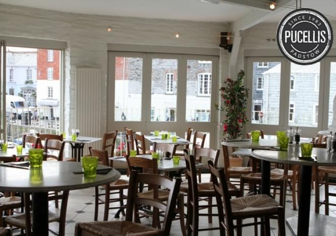 Pucelli's Italian Restaurant  Padstow, North Cornwall