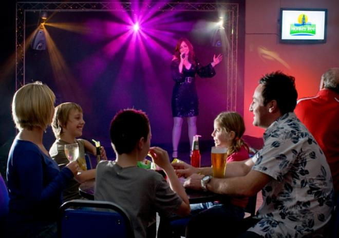 Holiday Park in Cornwall with entertainment