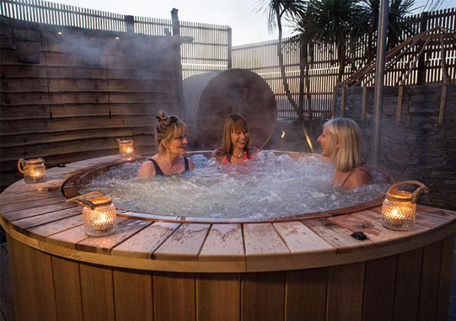 Sensory Spa Garden | Bedruthan Hotel and Spa | Spa breaks in Cornwall