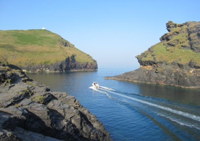 Boscastle, North Cornwall, Valency Self Catering Studio