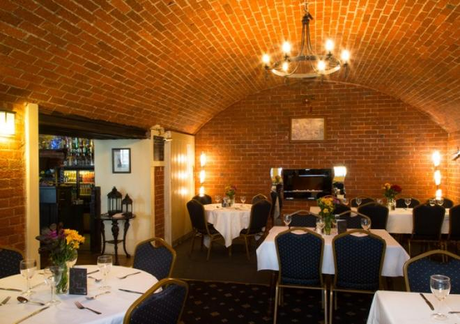 The vaults restaurant