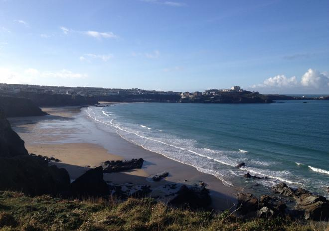 Tolcarne Beach | Newquay | Beaches in Cornwall c Lowenna Pascoe