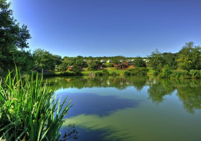 White Acres Coarse Fishery and Holiday Park, near Newquay, Cornwall