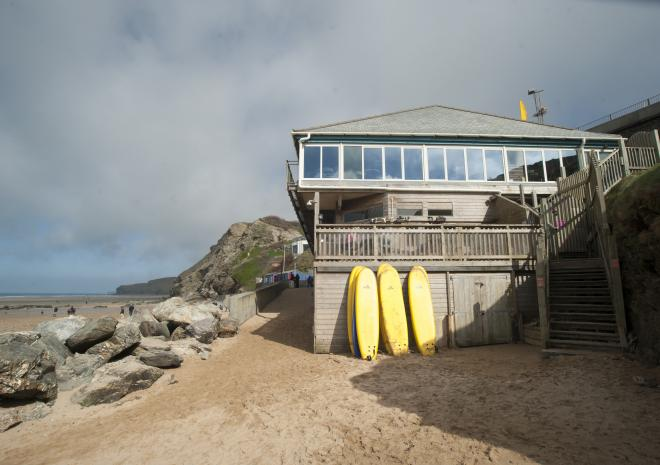 Beaches in Newquay Cornwall | Watergate Bay Beach c Visit Cornwall / Adam Gibbard