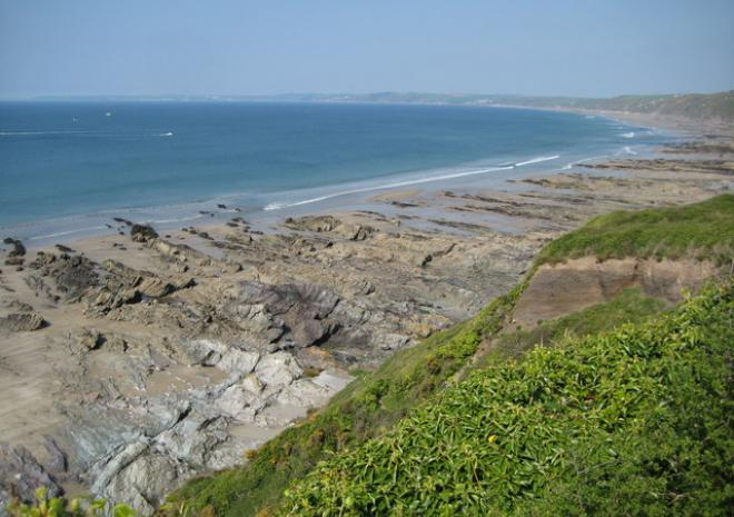 Whitsand Bay Beach, Rame, Cornwall