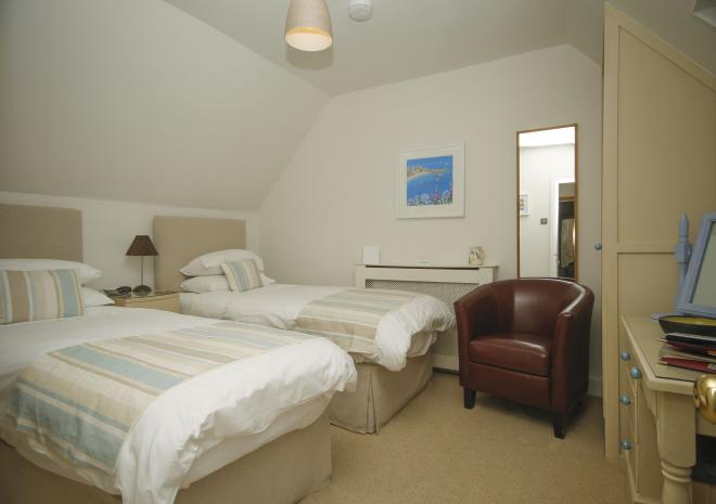 Room 3 can be used as a twin or king size en-suite at Brookdale Bed and Breakfast