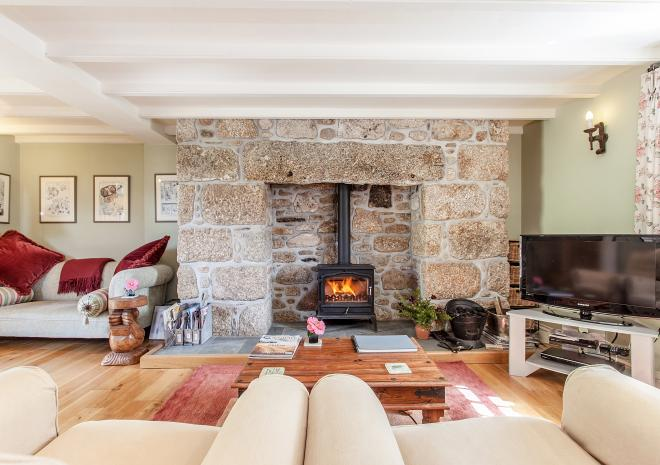 Snuggle up in front of the woodburner in Ring and Thimble