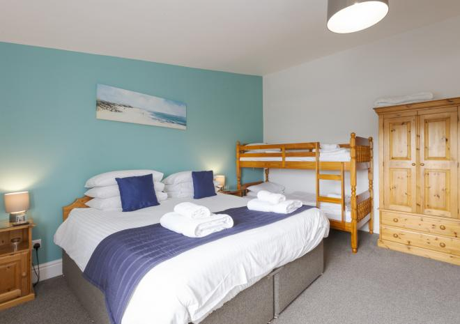 Family room, Porth Veor Manor, Porth, Newquay, Cornwall