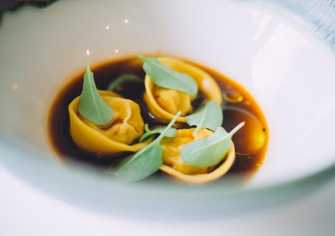 Fresh pasta, Italian food, Jamie Oliver's Fifteen Cornwall, Restaurant, Watergate Bay