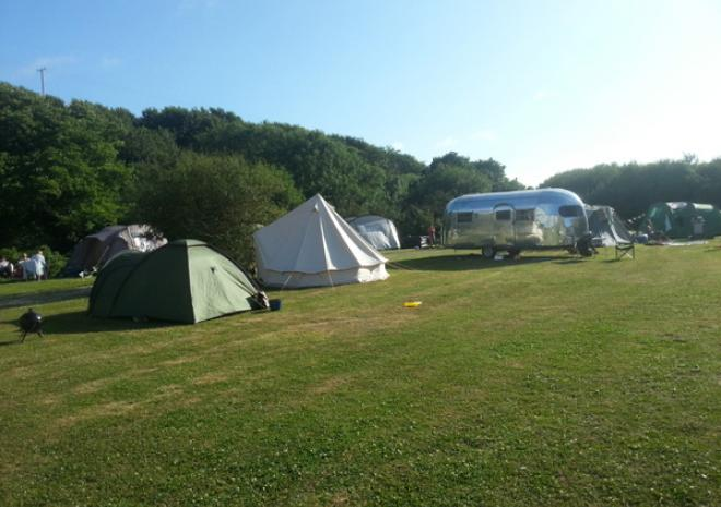 Glamping and Camping in Cornwall , Coastal Valley Camp and Crafts, Newquay, Cornwal