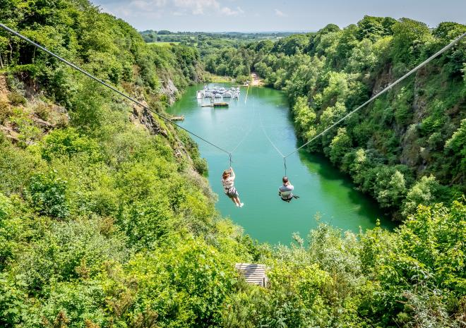 Adrenalin Quarry, Adventure Days Out Cornwall