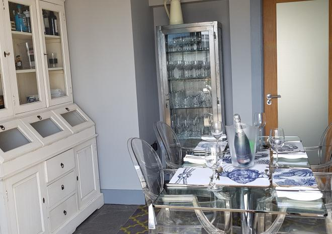 Dining Room at Little Pebble House, Mevagissey