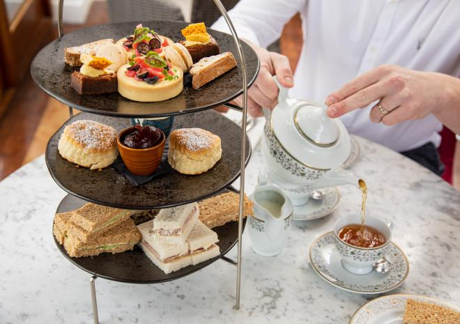 Afternoon Tea at Hotel Penzance