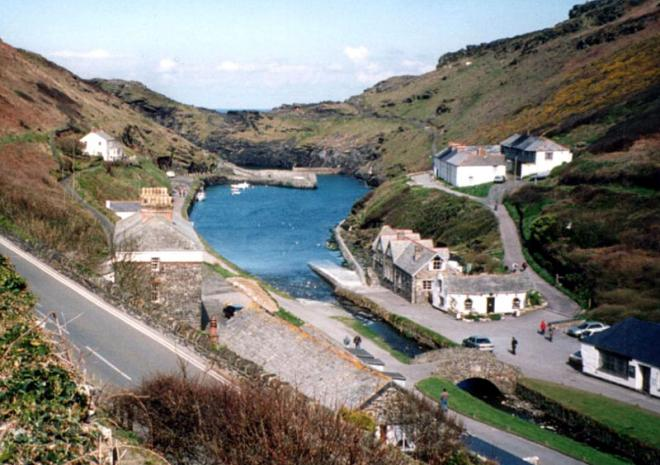 Boscastle Harbour, short walk from The Old Coach House, B&B