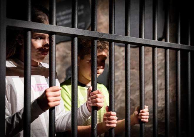 Come and witness what life was like behind bars; throughout the ages in our immersive museum.