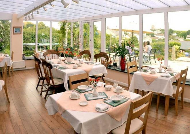 The Old Coach House, Boscastle, North Cornwall, B&B, Breakfast Room
