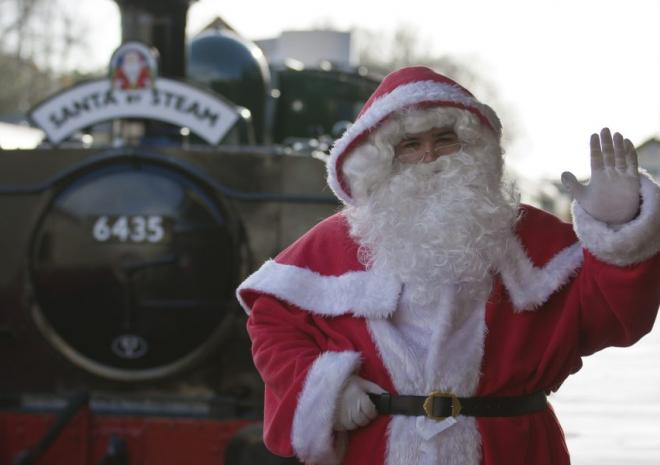 Santa at Bodmin & Wenford